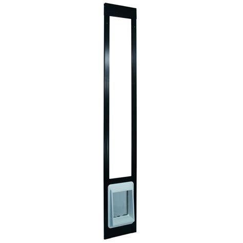 electronic patio pet door electronic patio pet door shorty bronze
