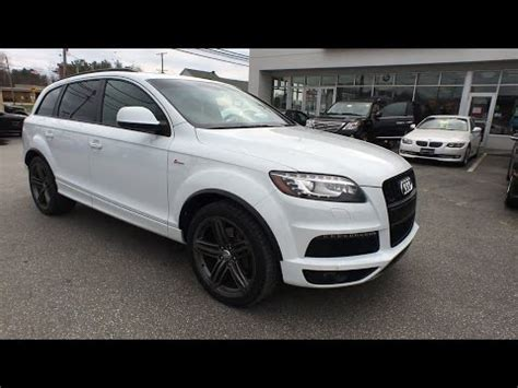 2013 audi q7 baltimore towson catonsville silver spring rockville md p00391 youtube