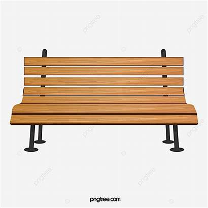 Bench Park Wood Taman Chairs Chair Clipart