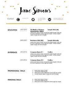 modern resume templates 2015 word free modern resume template