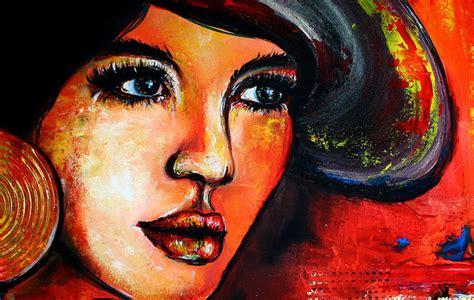 dream kunst portrait frau gesicht malerei kaufen
