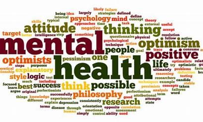Mental Health Word College Clipart Illness Cloud