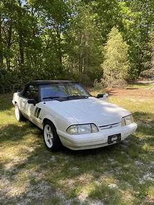 1993 Ford Mustang Convertible White RWD Manual LX - Classic Ford Mustang 1993 for sale