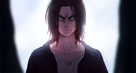 ● haircut is asymmetrical, also for more natural look. Attack On Titan HD Wallpaper | Background Image ...