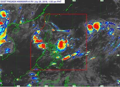 Manila Luzon Metro Habagat Weather Due Pagasa