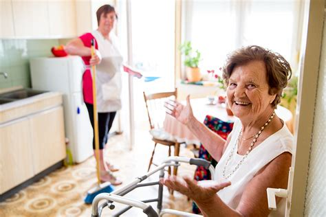 light home care caregivers provide light housekeeping services for seniors