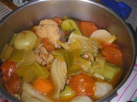 recette de pot au feu cocotte minute blanquette de la mer au safran recette iterroir
