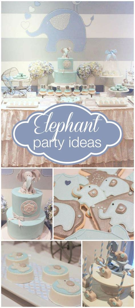 ideas  elephant cupcakes  pinterest baby