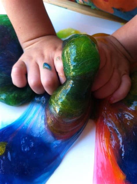 rainbow slime fun family crafts
