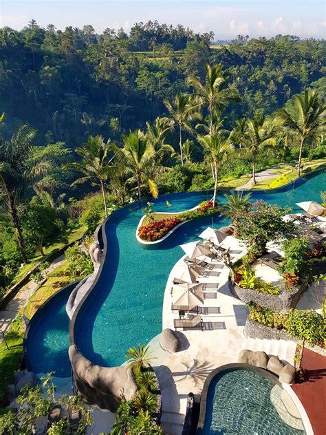 Balis Longest Infinity Pool At Padma Resort Ubud
