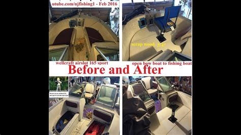 Convert Bowrider To Fishing Boat by Build A Removable Standing Fishing Deck On My Open Bow