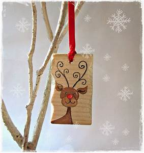 Handcrafted, By, Picto, Rudolph, The, Red, Nosed, Reindeer, U0026, Christmas, Tree, Decorations