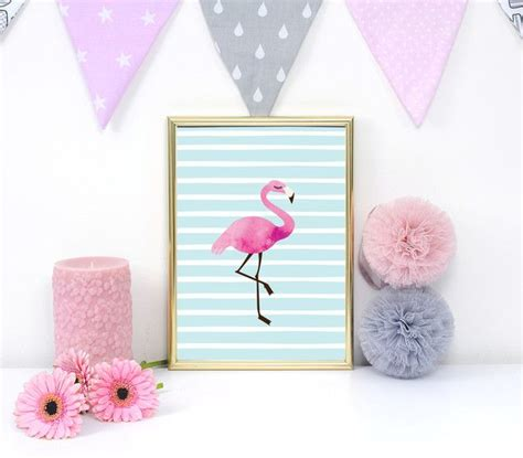 Deko Objekte Kinderzimmer by Deko Objekte Flamingo Drucken Kinder Plakat Rosa