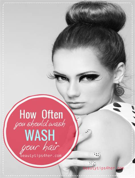 How Often You Should Wash Your Hair Depending On Your Hair