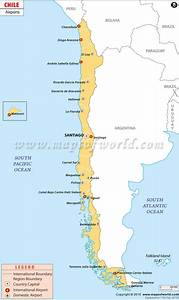 Airports in Chile, Chile Airports Map