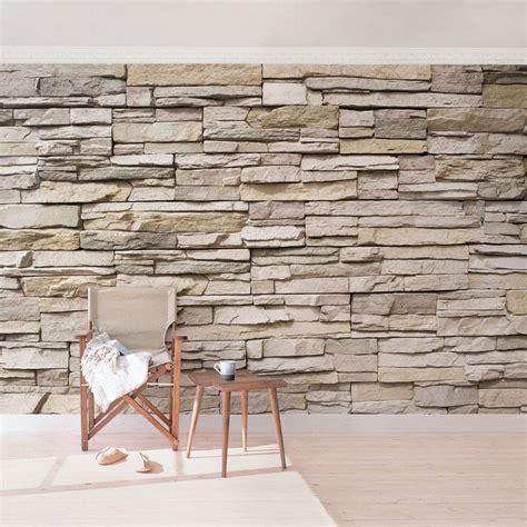 steinwand wohnzimmer material bilderwelten vliestapete steinoptik breit 187 asian stonewall