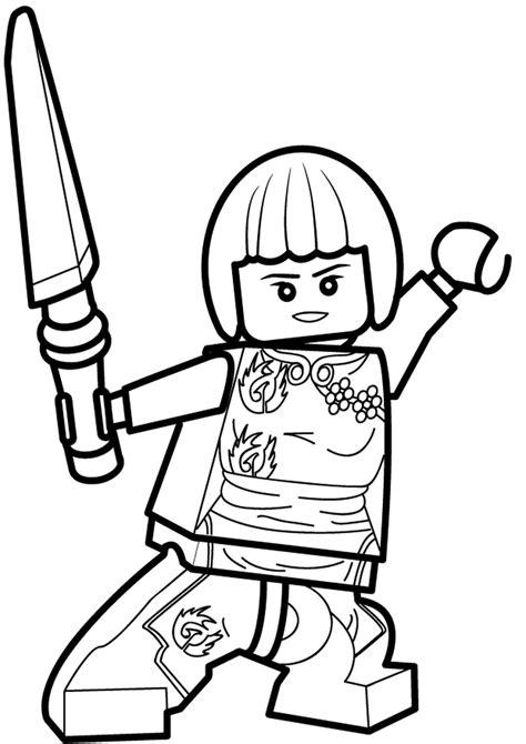 foto de Kolorowanka Lego Ninjago Nya nr 51