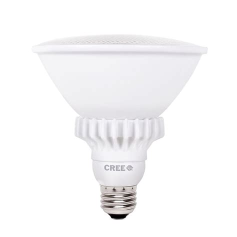cree led light bulbs cree 90w equivalent bright white 3000k par38 47 degrees