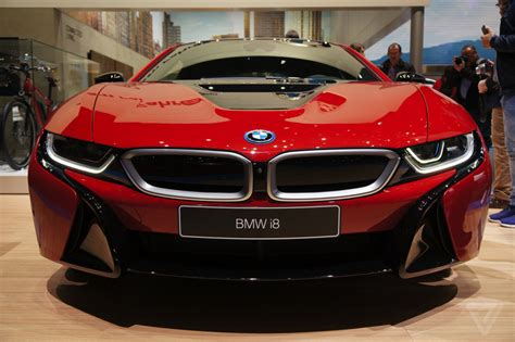 Bmw's I8 Is Even Prettier In Protonic Red