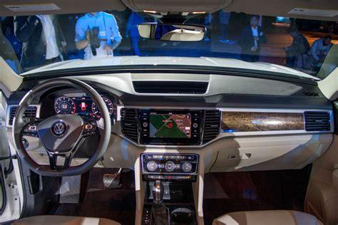 volkswagen pickup interior 2019 volkswagen atlas pickup features and specs 2018