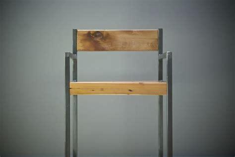Custom Made Urban Industrial Counter Stool/Bar Stool W