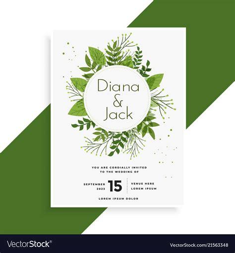 wedding invitation card design in illustrator white and