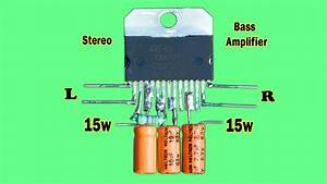 30w Stereo Audio Amplifier Circuit