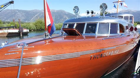 Boat Antiques by South Tahoe Antique Wooden Boat Classic