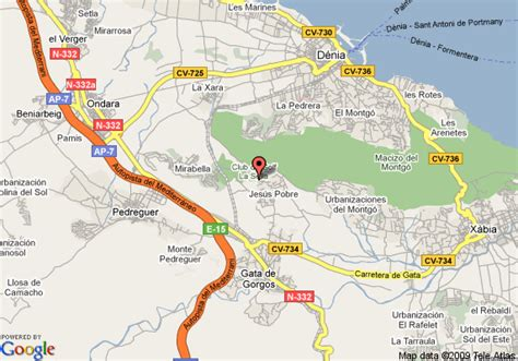map  marriott denia la sella golf resort  spa denia