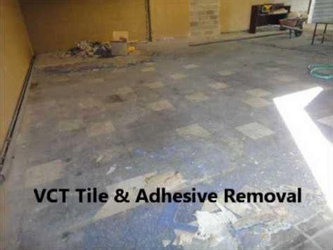 vct tile adhesive removal calgary edmonton vancouver
