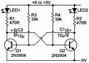 practical led indicator and flasher circuits nuts With light turning bike using ic lm3909