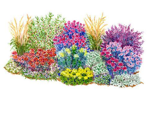 flower bed plans perennials bedding sets