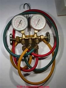 Refrigerant Charging Procedure For Air Conditioner Or Heat Pump Repair Or Refrigeration