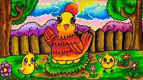 contoh gambar fauna yang ada warnanya