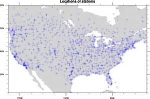 Scatter Plot Map