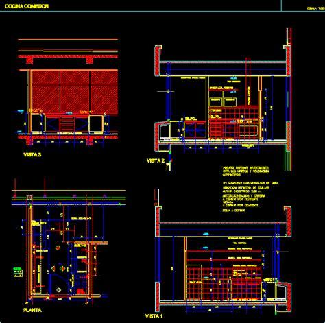 Kitchen  Details Dwg Detail For Autocad • Designs Cad
