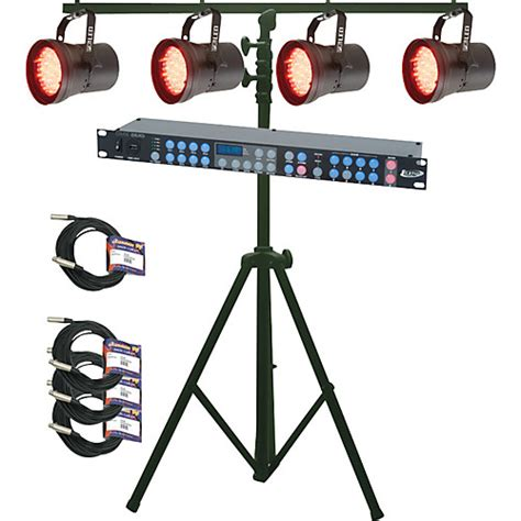 music match light system american dj p36 led system musician 39 s friend