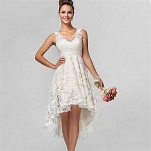 high low plus size wedding dresses pluslookeu collection With plus size high low wedding dresses