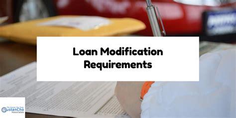 Modification Mortgage Loan by Fha Mortgage Loan Modification Requirements Illinois
