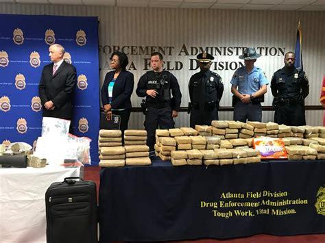 Atlanta Dea Hits Cartel For  Million In Drugs