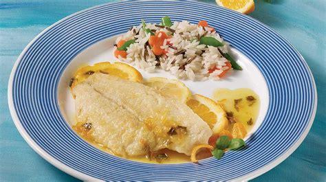 cuisiner filet de sole filets de sole aux agrumes recettes iga poisson