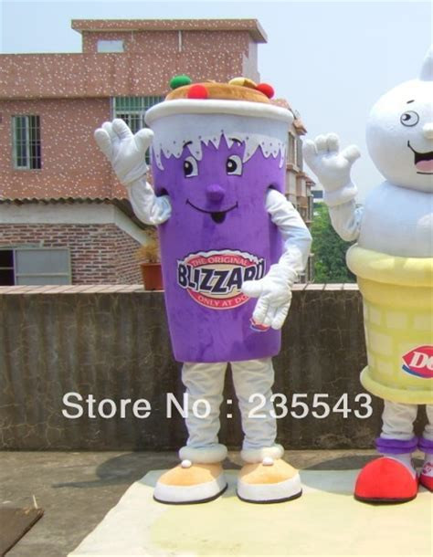 Adult Dairy Queen ice cream mascot costume for sale-in Clothing from Novelty u0026 Special Use on ...