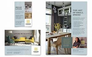 Brochure Layout Samples Print Ad Designs Business Print Ad Templates