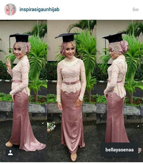 kebaya hijab graduation day dress