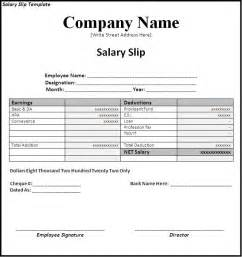 Blank Invoice Template Excel Simple Salary Slip Template Sle With Company Name And Editable Information Also Blank Table