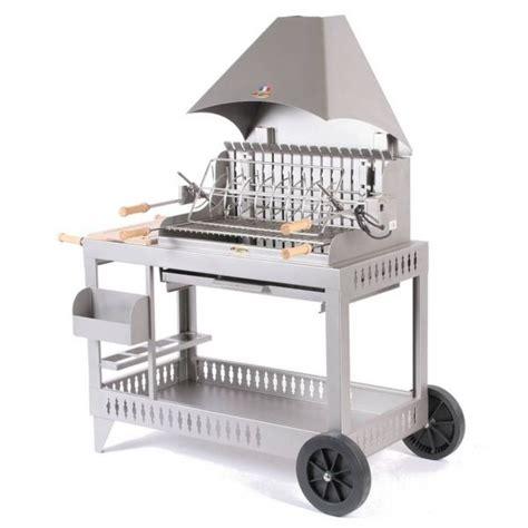 barbecue le marquier isturits inox hotte