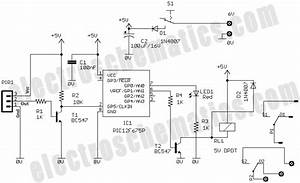 pic based security alarm project With touch alarm system