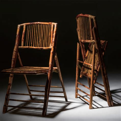 bamboo folding chair liberty event rentals