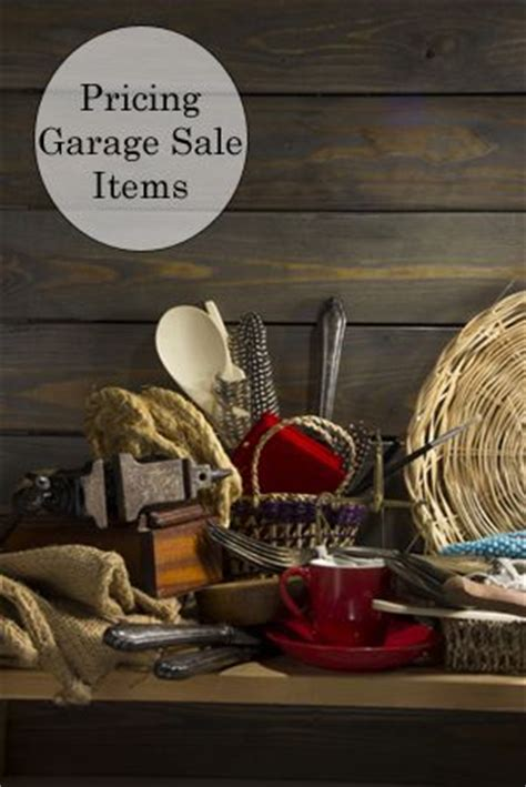 how to price garage items how to price garage items items garage and tips