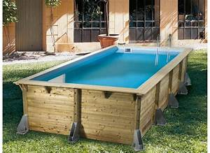 Piscine Bois Ubbink : piscine bois azura 4 50 x 2 50 m liner bleu ubbink ~ Mglfilm.com Idées de Décoration